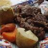 故郷(ノタガ)でモンゴル料理の忘年会