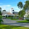 ラヨンのホテルと水族館