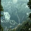 残雪の立山連峰(1)室堂へ