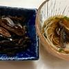 わが家の素麺には欠かせない手作りおつゆとシイタケの含め煮