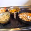 幸運な病のレシピ( 1515 )朝:塩サバ、鮭、里芋煮しめ、カボチャ煮付け、味噌汁(仕立直し)、先にタルトタタン風焼きりんご