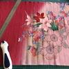 つまみ細工  お題…和風の小物  について試作を練る