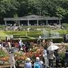 バラフェスタの前ですが神代植物公園の無料開園日(5/4)に行ったら結構咲いていた