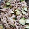 豚肉とズッキーニ、玉葱の炒め物