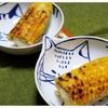 森町産のとうもろこしで焼きトウモロコシ作りました。