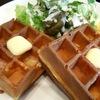 【秋葉原・岩本町】電源カフェとしてRLワッフルカフェで優雅なモーニング