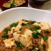 本日の晩ごはん ~麻婆豆腐