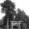 【出雲國】嶋根郡・久良彌神社、同社坐波夜都武自神社。