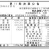 2017年3月31日決算 株式会社レオハウス 第11期決算広告