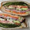 🚩外食日記(661)    宮崎ランチ   「九州パンケーキカフェ」③より、【選べる日替りサンドイッチ(スープ付)】‼️