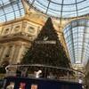 クリスマスシーズンのミラノ