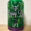 アメリカ STONE Enjoy By 04. 20. 19 IPA