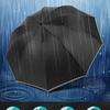 コンビニの折りたたみ傘のサイズ、耐久性に不満がある方に 10本骨 濡れない逆折り式がおすすめ