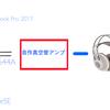 Macbook Proは高音質