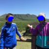 三原山に登った