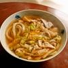 春キャベツとユズの肉うどん、骨付き鶏と新玉ねぎのスープ。