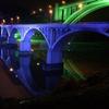 新旧小倉橋の夜景