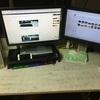 イエスコム(Yescom)の机上台レビュー!PCデスクの整頓術、キーボードが収納できる!