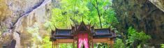 タイ王族御用達のリゾート・ホアヒンにある洞窟のその最奥に建つ、クーハーカルハット宮殿へ