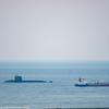 度々の潜水艦 作業中?