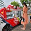 上海に無人キッチンカーが登場。地下鉄駅前にやってくる走る朝食自販機