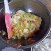 幸運な病のレシピ( 1169 )朝:マッシュポテトー>ポテトサラダ、アジ煮付け、鱒、味噌汁