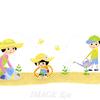 ぐんぐん伸びて大きく育て!植物を育てる子供たち
