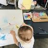 【1歳と3歳育児】雨の日の色水遊び