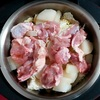 ホットクックで白菜と鶏肉と大根の煮物のレシピに挑戦!白菜1/2を内鍋MAXまで入れても作れました♪