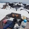 日本最高所での焼肉 【残雪期の富士山・御殿場ルート】