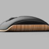 イームズ&レイイームズラウンジチェアにインスパイアされデザインされたPCマウス