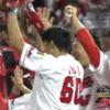 【試合結果】8x-7で勝利!安部のサヨナラ2ラン!vs阪神21回戦[マツダ]
