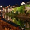 小樽運河のライトアップが超綺麗だった