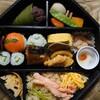 金沢市いなほにある芝寿しのさとで、TABETEアプリを通じて金澤冬の鼓御膳。