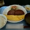 ポークたまご定食@空港食堂