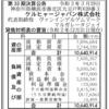 ケルヒャージャパン株式会社 第33期決算公告