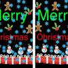 間違い探しクイズ34・・・クリスマスカード
