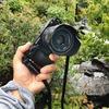 ソニーの標準単焦点レンズ、SEL35F18(E 35mm F1.8 OSS)を雨の日に傘をさしながら片手で撮影してきた。