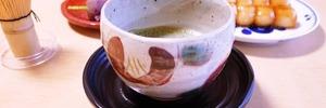 60代主婦のほっこりタイム。お抹茶でティータイムを楽しみました。