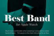 【Apple Watch】BRGミラネーゼループが安くて最高