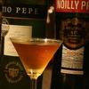 『アドニス』ドライシェリーにベルモットの甘みをプラスした、バランスの良い食前酒。
