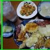 16/10/09の晩御飯(伊佐美と天ぷら)