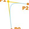 矢を放物線状に飛ばしたい(2D 重力無視)