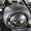 自動車内装修理#283 MINI(BMW)/クーパーS JOHN COOPER WORKS ステアリングホーンカバー切り傷補修
