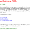 PAML-XでGUI環境のPAMLを試してみる