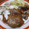 幸運な病のレシピ( 649)夜:小鯛焼き、小鯛頭唐揚げ、汁