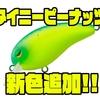 【ダイワ】ハイピッチアクションのコンパクトクランク「タイニーピーナッツ」に新色追加!