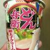 日清のどん兵衛 明太子クリームうどん  食べてみました