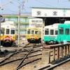 3月11日の琴電仏生山駅に止まる車両は