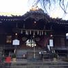 「白山神社と白山通り。」
